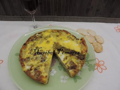 Tortilla De Brocoli Y Patatas.