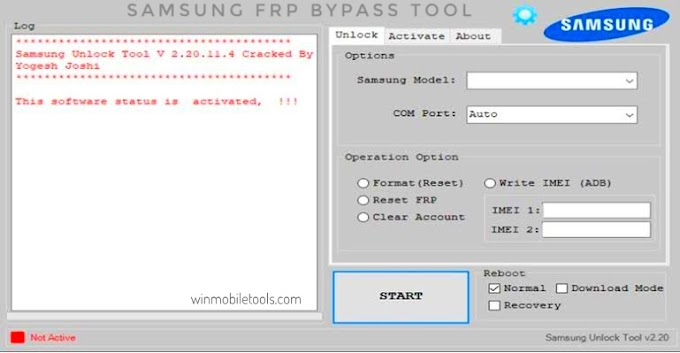 Samsung FRP Bypass Tool 2021 Latest Version Free Download