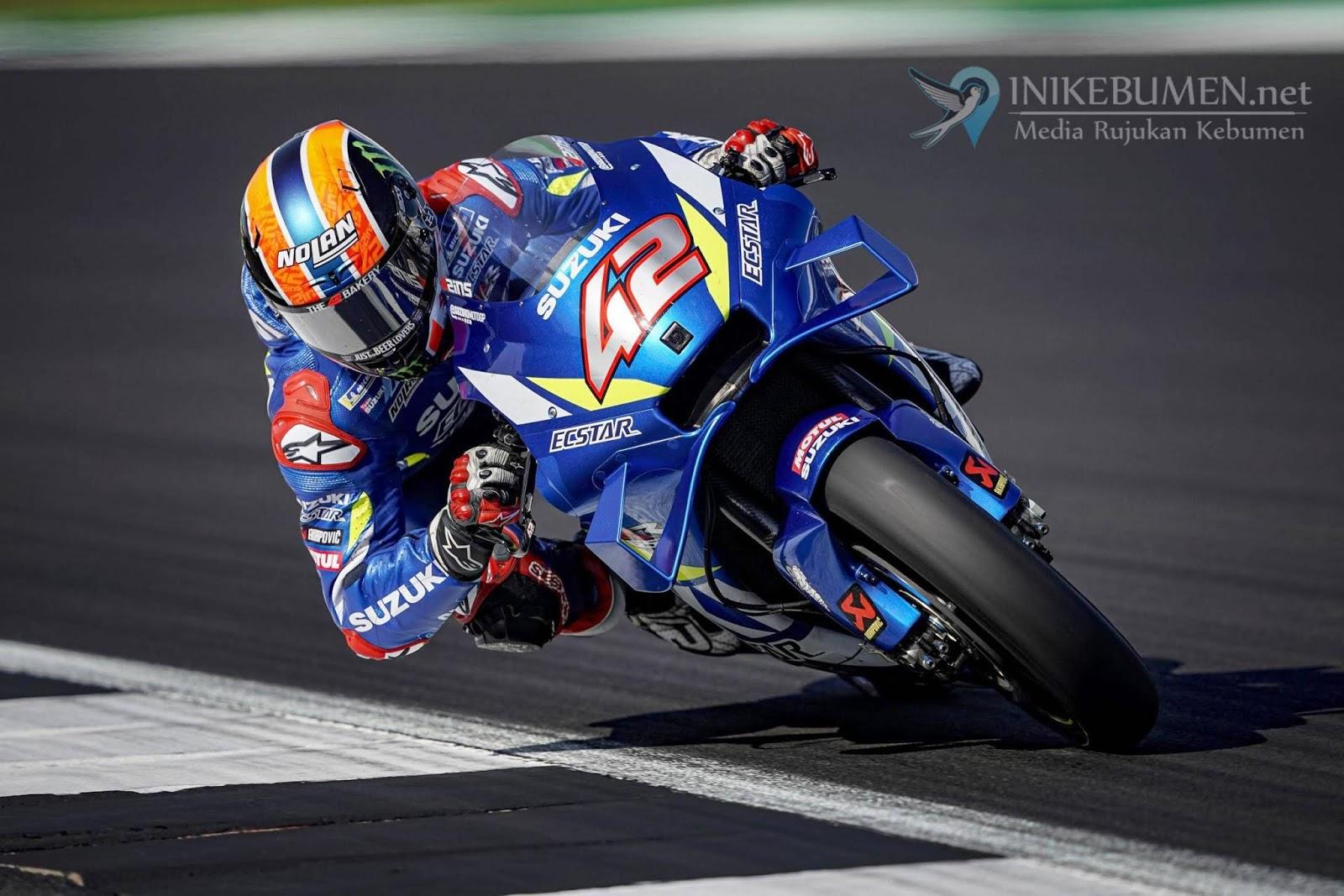 Beri Kejutan di Garis Finish, Alex Rins Rebut Poin Tertinggi di Moto GP Silverstone