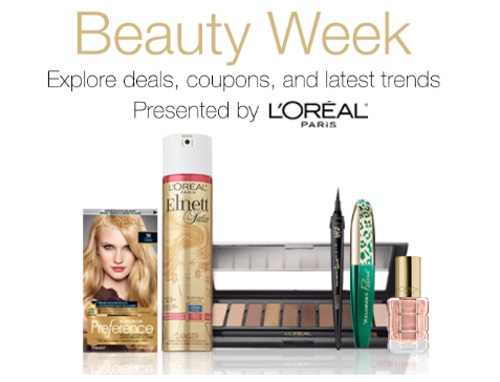 Amazon.ca Beauty Week Up To 35% Off Loreal Cosmetics