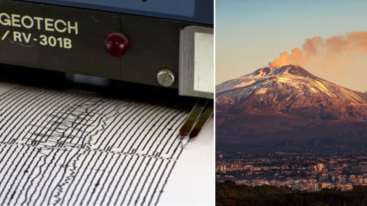 Scossa terremoto Etna magnitudo 2.1 epicentro Fleri