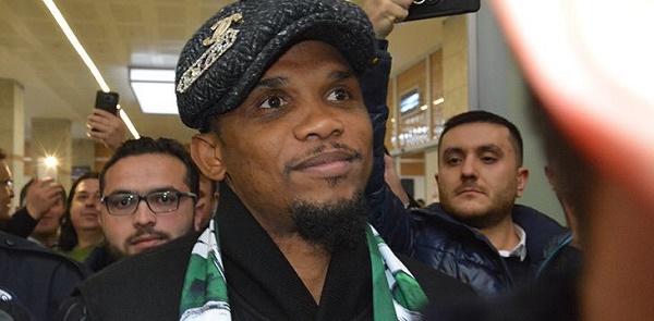Turquie: Samuel Eto'o accueillit par les supporteurs de Konyaspor (Photos)