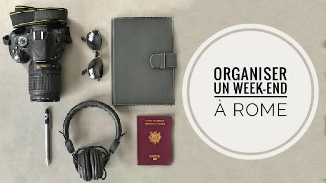 equipement de voyage, Appareil photo, lunettes de soleil et carnet de note