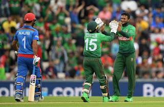 Bangladesh vs Afghanistan 31st Match ICC Cricket World Cup 2019 Highlights