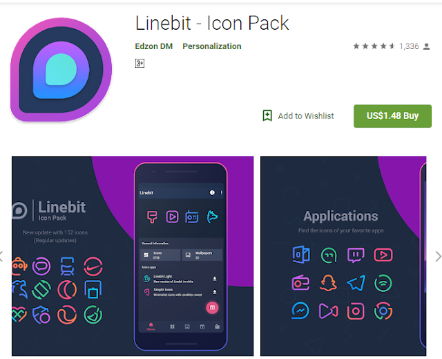 Linebit screenshot