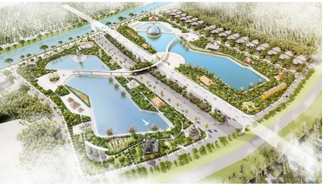 Ấn tượng tại dự án Sunshine Heritage Resort sở hữu tới 20 công viên xanh chức năng