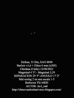 Estrella doble Dziban