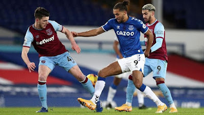 Everton Vs West Ham: The Hammers Hantam The Toffees 1-0