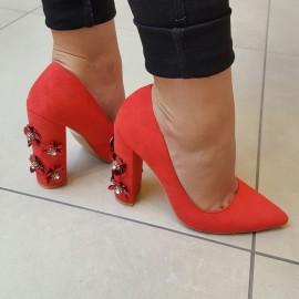 Pantofi Dama din piele ecologica
