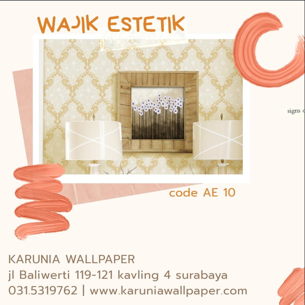 jual wallpaper dinding wajik estetik