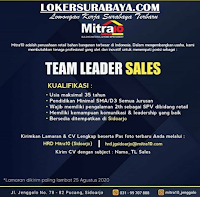 Info Loker Surabaya di Mitra10 Sidoarjo Agustus 2020