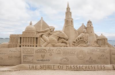 Revere Beach Annual International Sand Sculpting Festival in Massachusetts