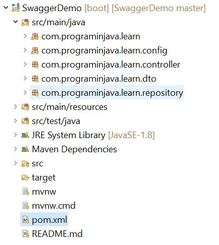 Implementation of Swagger in spring boot ~ Program in Java - Java