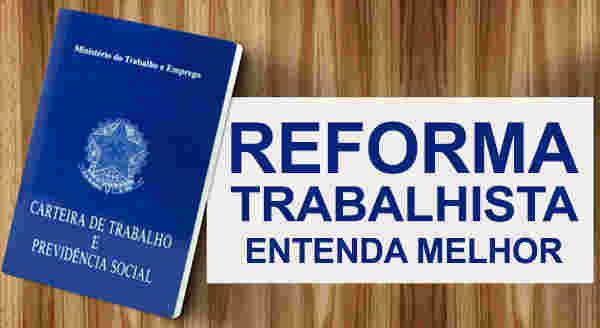 Texto Reforma Trabalhista