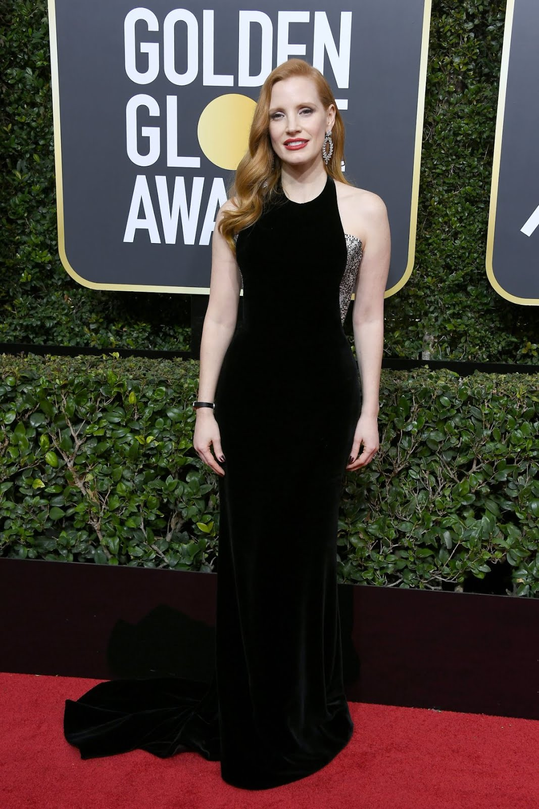 Jessica Chastain At 75Th Annual Golden Globe Awards In Beverly Hills 2018