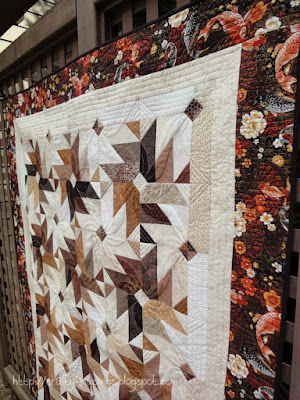 Fall 2013 Mystery Quilt, side front detail