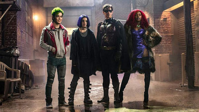 Titans, sezon 1 (2018)