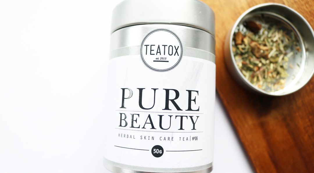 Teatox Pure Beauty Herbal Skin Care Tea
