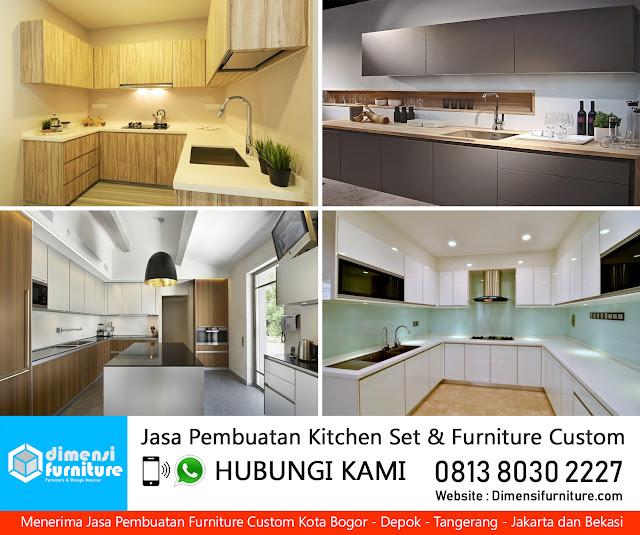 jasa kitchen set bojong gede bogor