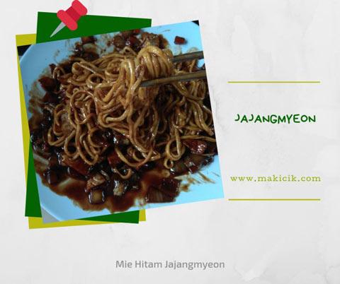 korean jajangmyeon di kmie bali