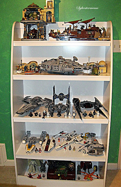 Bookcase Shelves for Lego Display
