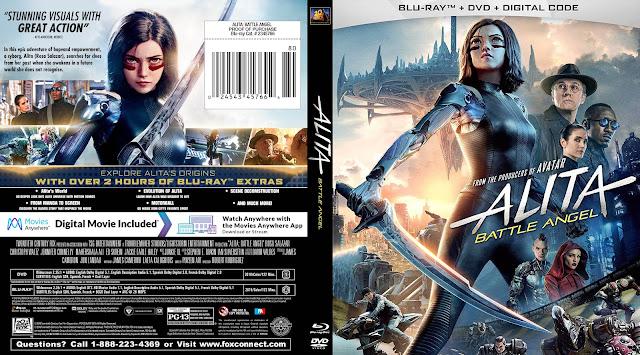 Alita: Battle Angel Bluray Cover