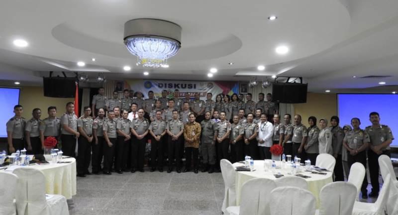 Divisi Humas Polri Gelar Diskusi Penyelesaian Sengketa Informasi di Polda Kepri