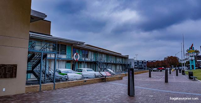 Lorraine Motel, sede do Museu Nacional dos Direitos Civis, em Memphis
