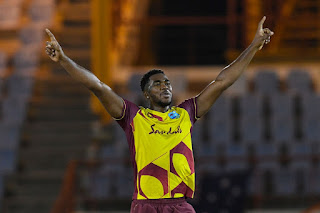 Obed McCoy 4-26 - West Indies vs Australia 1st T20I 2021 Highlights