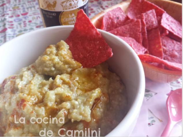 Dip de berenjenas (La cocina de Camilni)