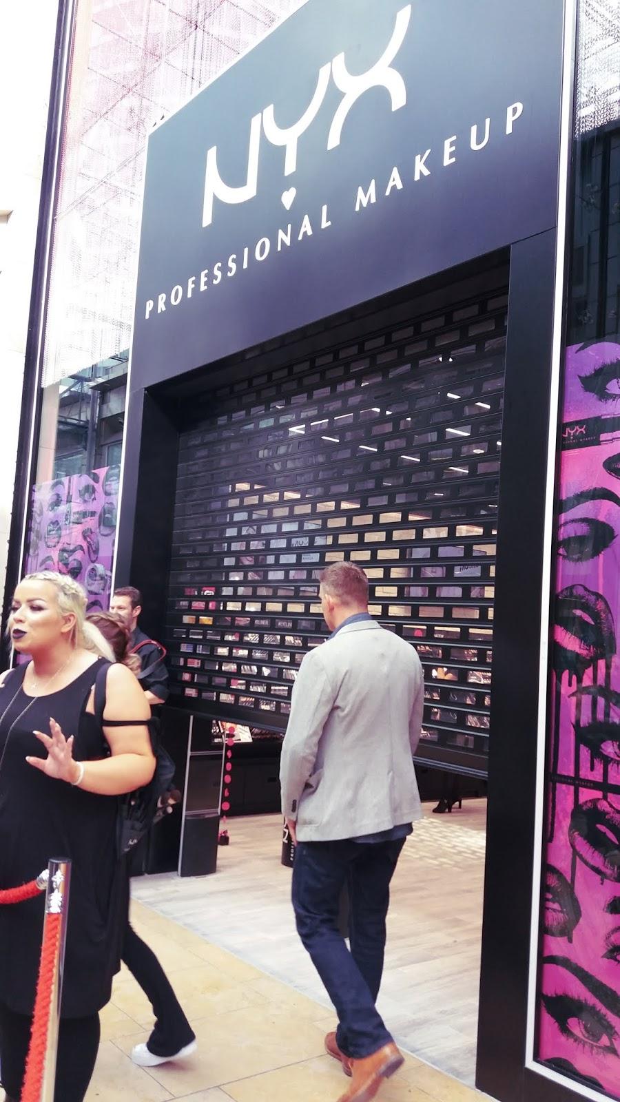 NYX_Birmingham_Bullring_Store_Opening