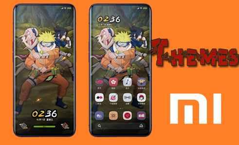 Kumpulan Tema Anime Untuk Xiaomi Mtz Tembus Sistem dan Aplikasi