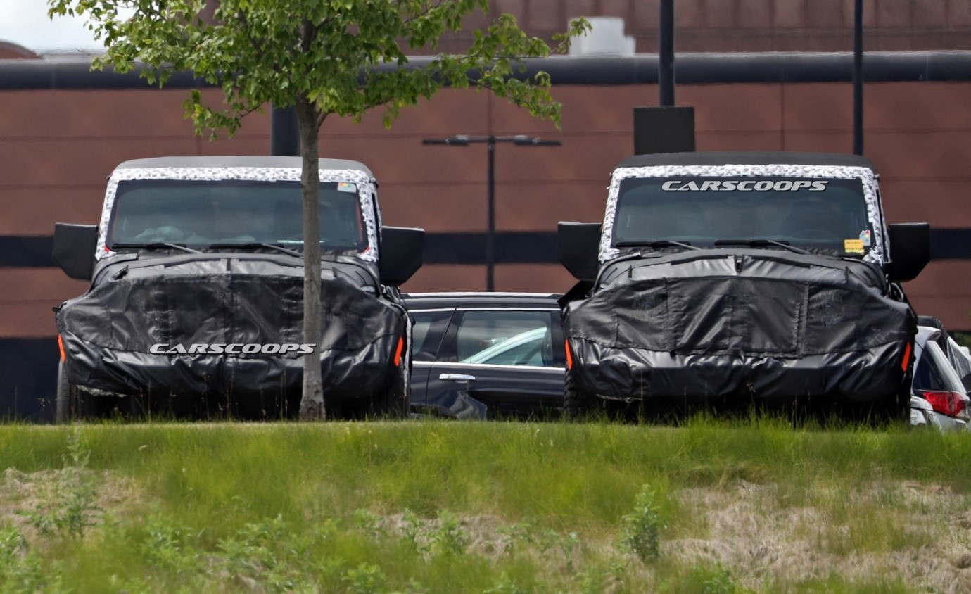 2018 Jeep Wrangler Spy Shot Ms Blog Powertrain New Information Came To Light About The Jlwrangler Forums Got Some Details Including Options Via An Anonymous Source
