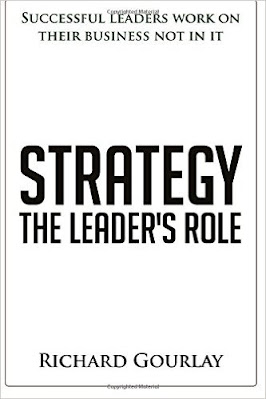 Strategy how to develop yours click the link to buy Richard Gourlay's book Strategy The Leader's Role by Richard Gourlay