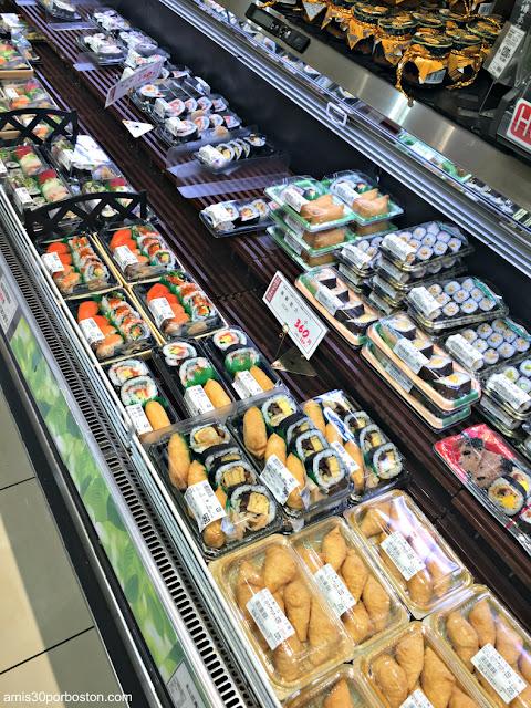 Comida Preparada en los Supermercados de Tokio