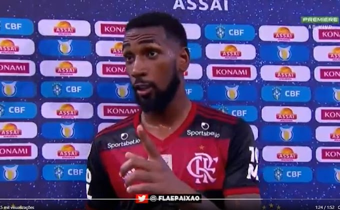 Vasco da Gama se solidariza com Gerson, do Flamengo, vítima de racismo