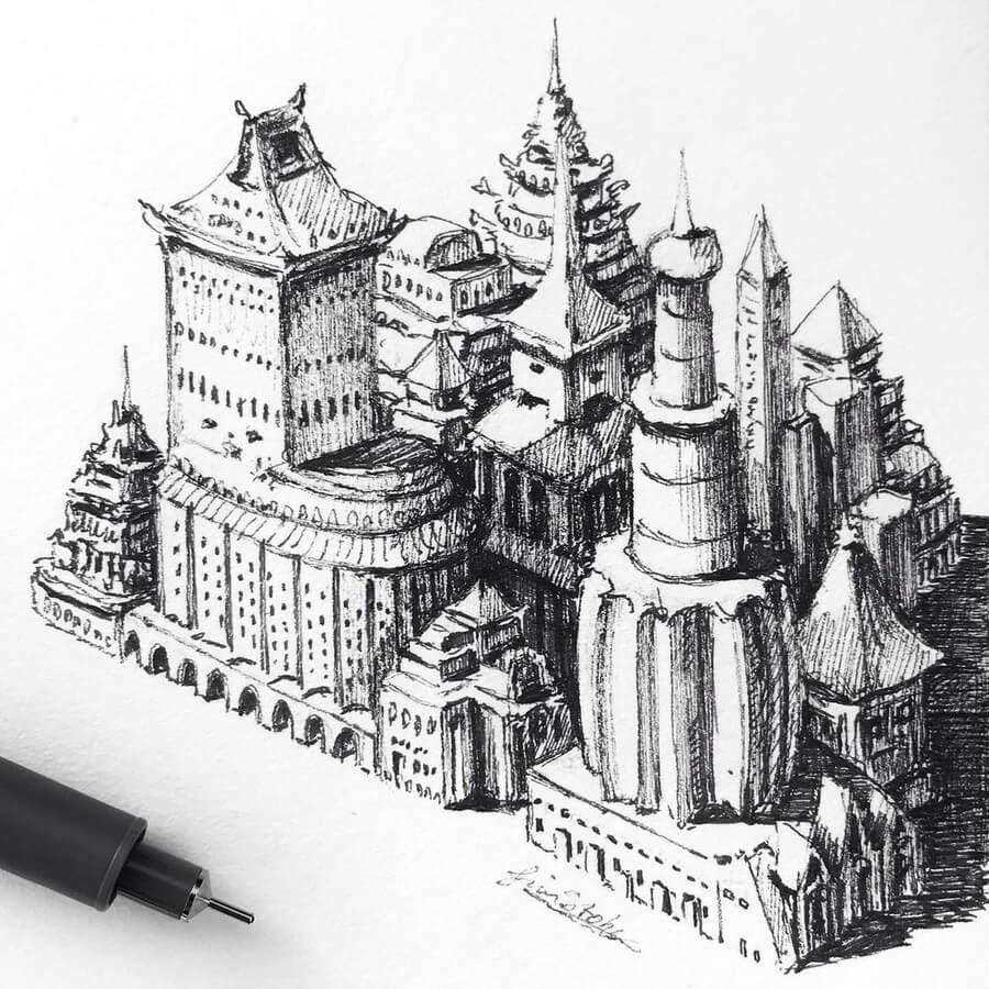 06-Imaginary-town-Tim-Stokes-www-designstack-co