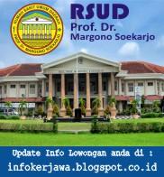Lowongan Kerja RSUD Prof. Dr. Margono Soekarjo