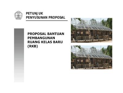 Download Format Proposal Pengajuan RKB (Ruangan Kelas Baru) Tahun 2016