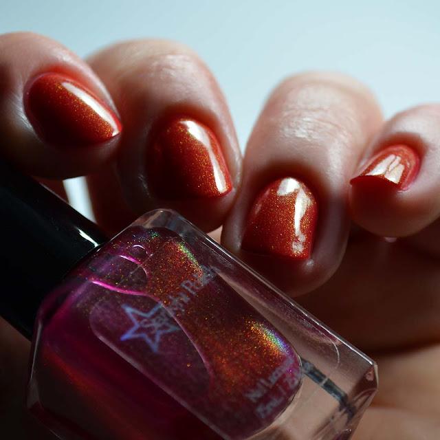 fuchsia unicorn pee nail polish