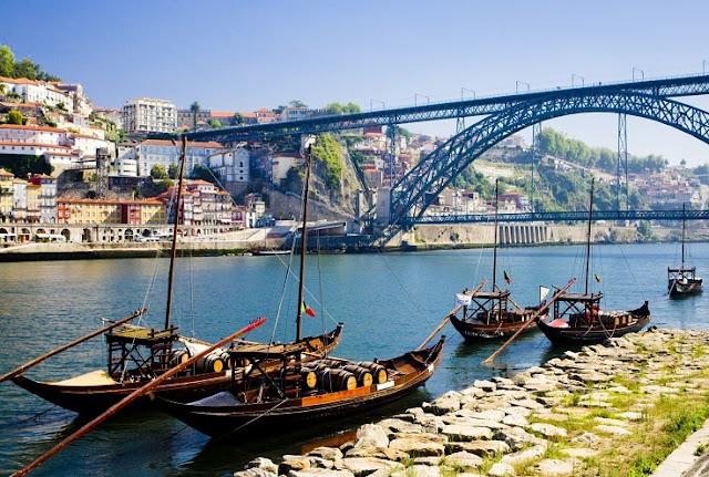 Porto em Portugal