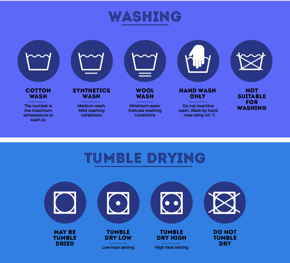 Understanding Clothing Care Labels Being Ashleigh Fashion