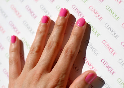 Clinique A Different Nail Enamel for Sensitive Skins in Hi Sweetie!