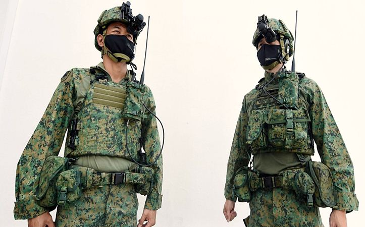 Combat Helmet And New Singapore Personal Equipment