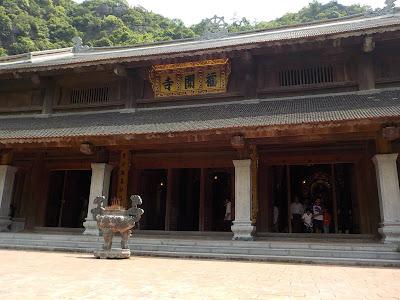 チャンアン(Trang An)の寺院