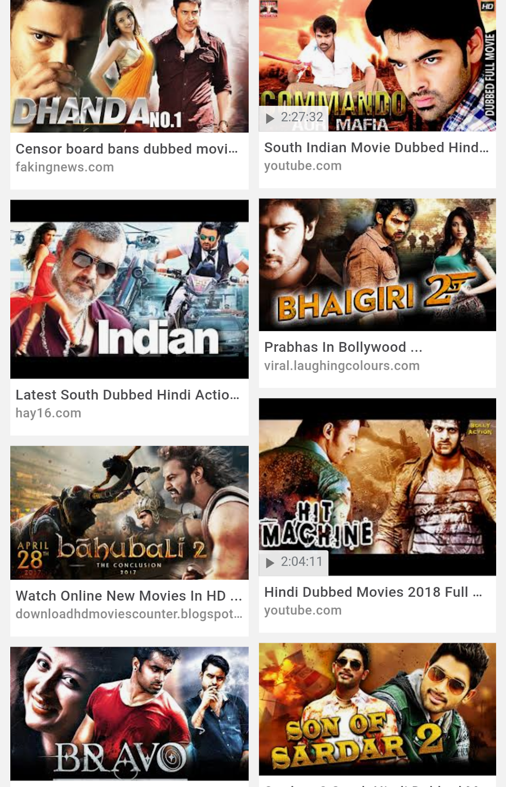 new south movies hindi dubbed download hd