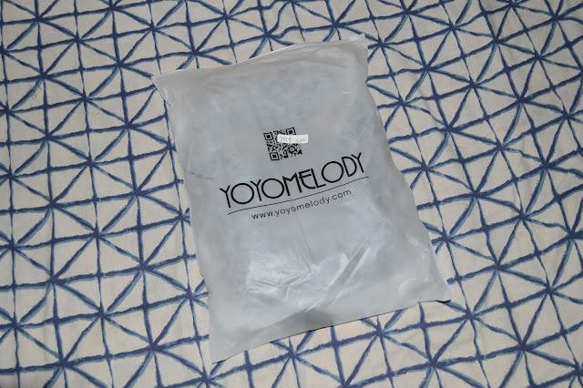 Vim mostrar os itens recebidos da Loja Yoyomelody que é parceira aqui do Blog.