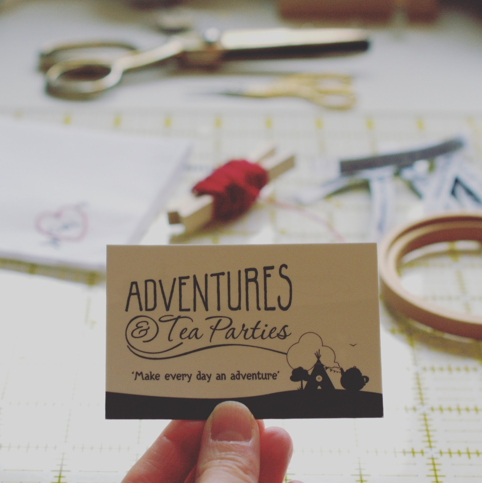 Adventures & Tea Parties behind the scenes