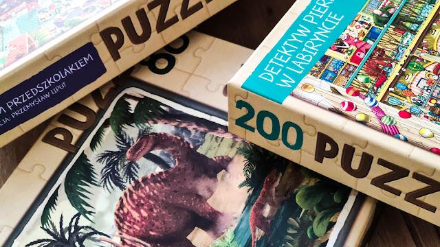 Piękne puzzle dla dzieci z ilustracjami ze znanych i lubianych książek