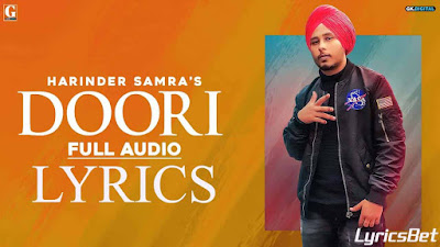 Doori Lyrics - Harinder Samra